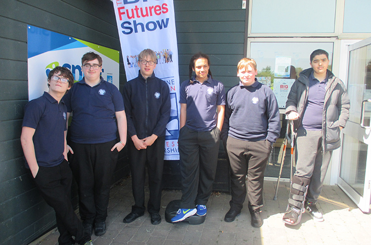 Visit to a careers fair