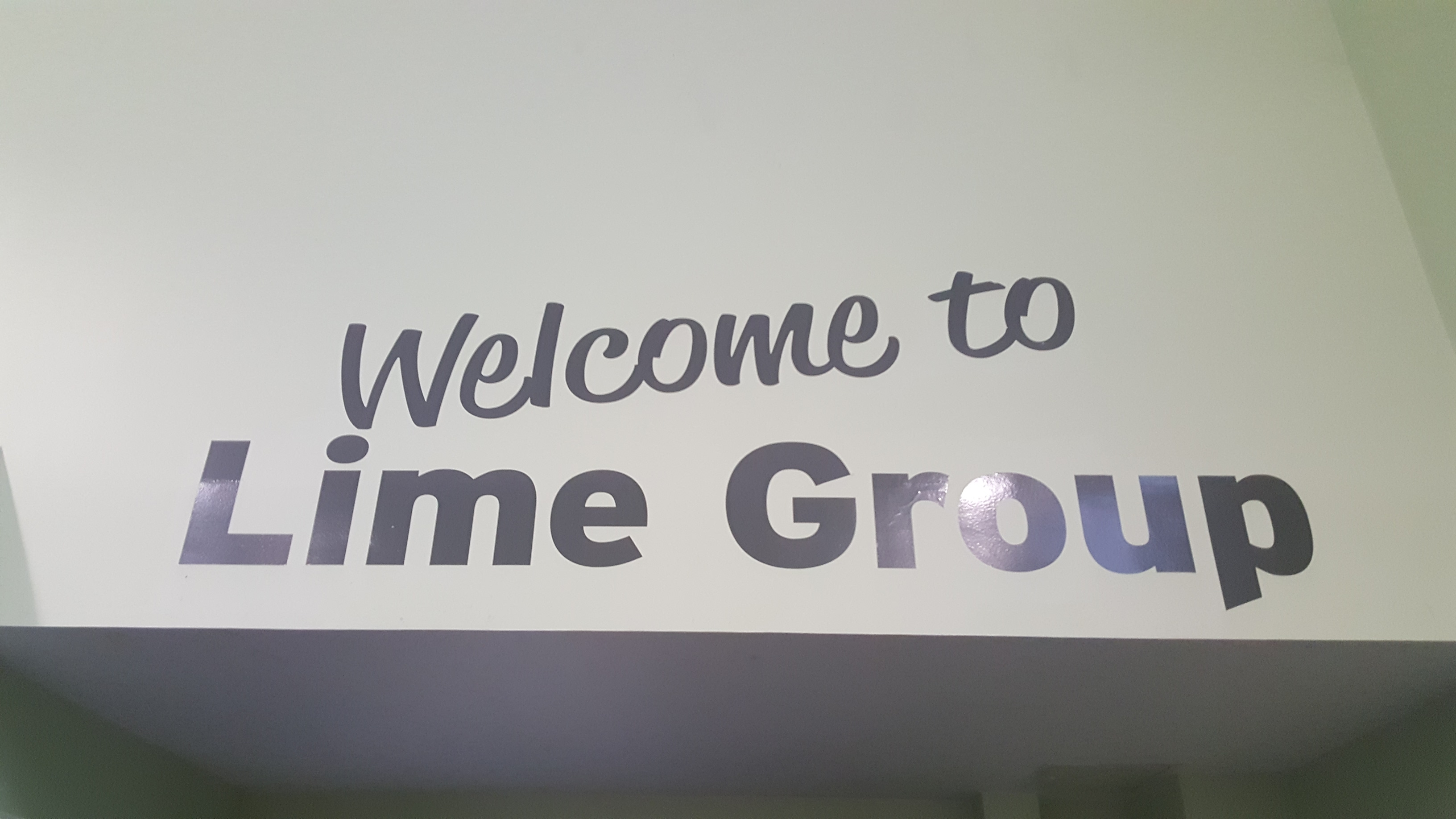 Lime Group Activity Board