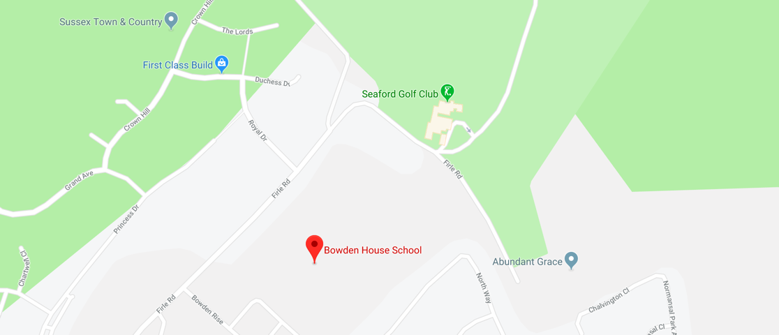 Bowden House School Map